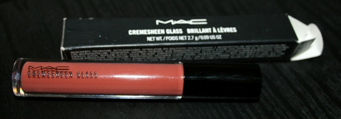 MAC Cremesheen Glass in Over Indulgence Review