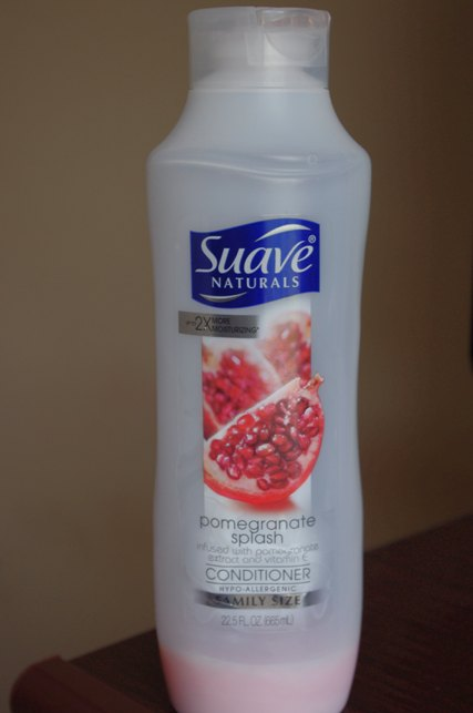 Suave Naturals Pomegranate Splash Conditioner Review