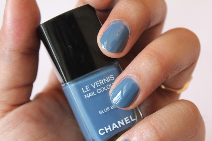 chanel blue boy le vernis