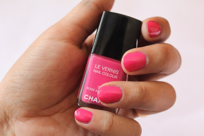 chanel rose exuberant All Chanel Nail Paints Photos, Swatches
