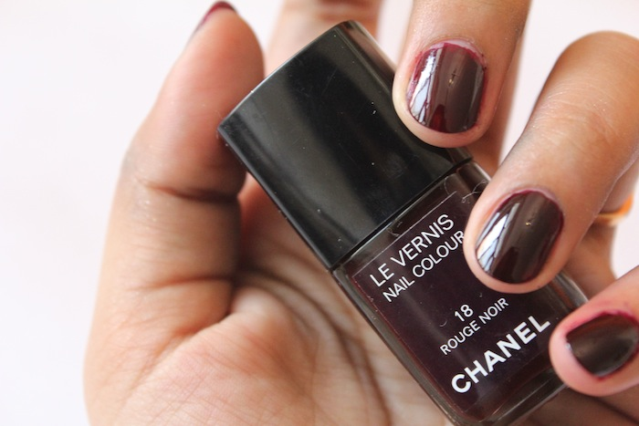 chanel rouge noir All Chanel Nail Paints Photos, Swatches