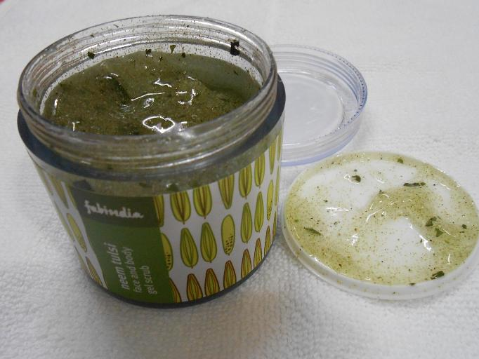 Neem Tulsi Face and Body Gel Scrub