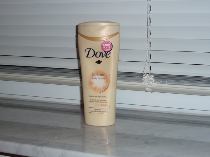 Dove Sunshine Body Lotion