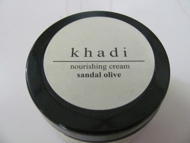 Khadi Sandal and Olive Nourishing Cream