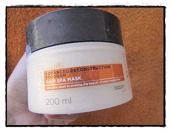 Sunsilk Keratinology Advanced Reconstruction Program Hair Spa Mask