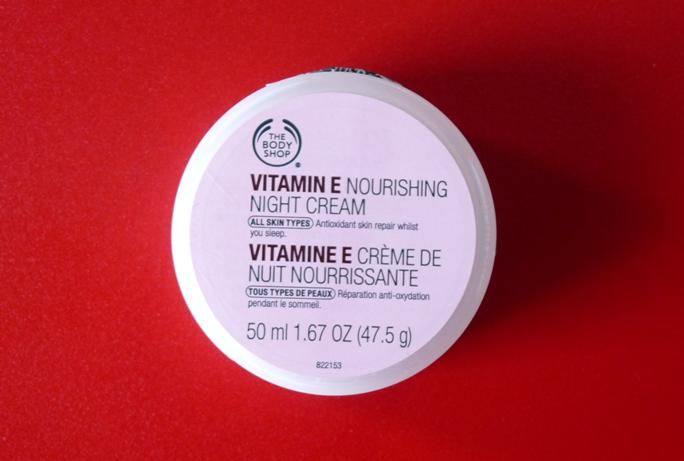 The+Body+Shop+Vitamin+E+Nourishing+Night+Cream The Body Shop Vitamin E Nourishing Night Cream