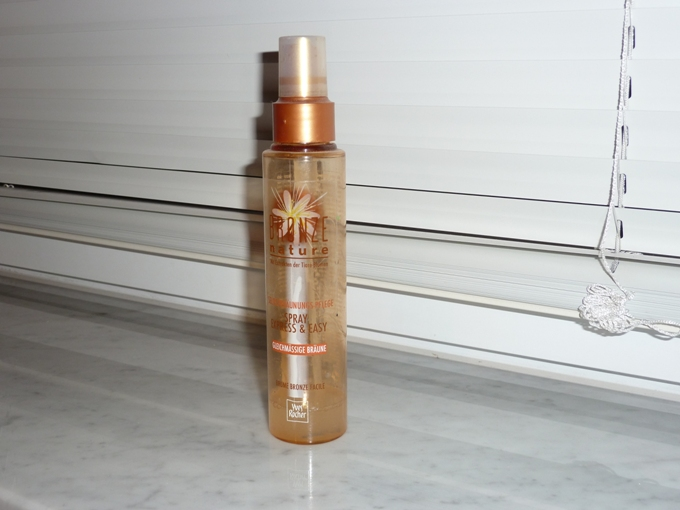 Yves Rocher Bronze Nature Tanning Spray