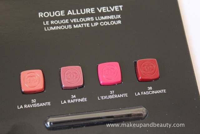 chanel rouge allure velvet lipstick