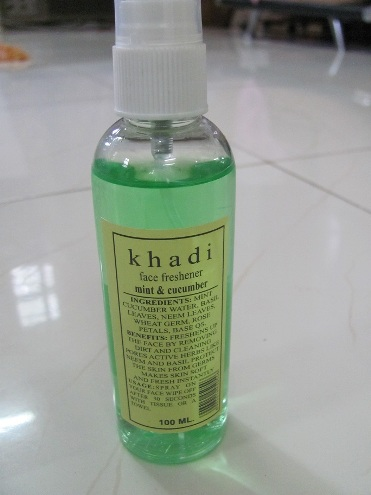 khadi face freshner mint cucumber