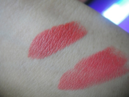 Colorbar peach crush swatch without flash
