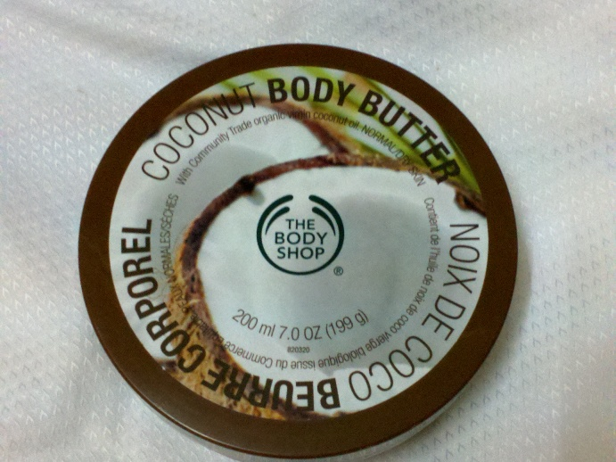 The Body Shop Coconut Body Butter Review
