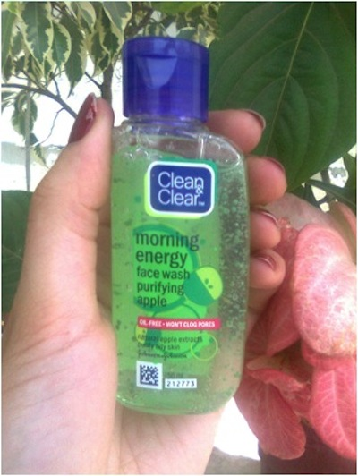 clean clear morning energizing face wash