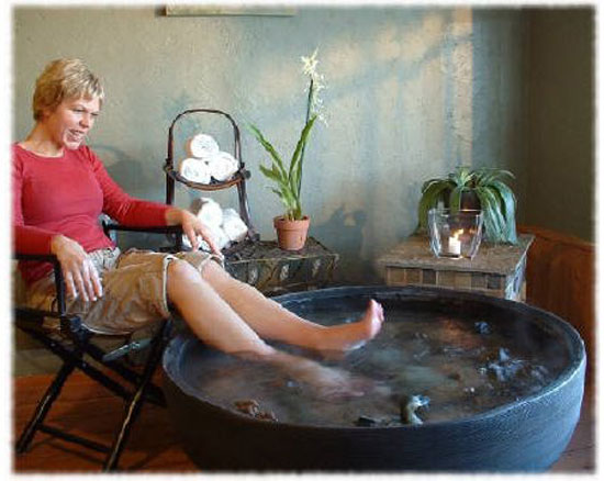 How to make foot spa at home for How to make a spa at home