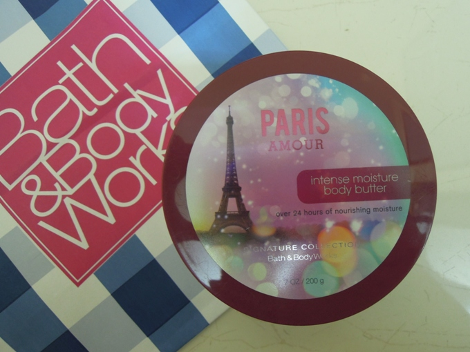 Bath and Body Works Body Butter Paris Amour Review
