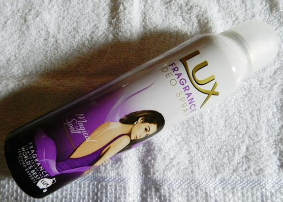Lux Fragrance Deo Spray Magical Spell Review