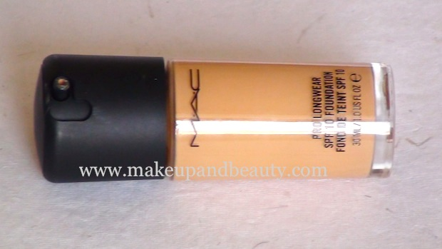 MAC Prolongwear foundation