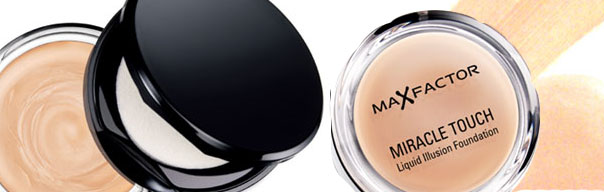 Maxfactor miracle touch foundation review