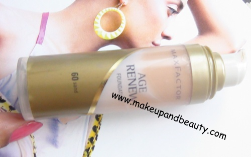 Maxfactor Age renew Foundation