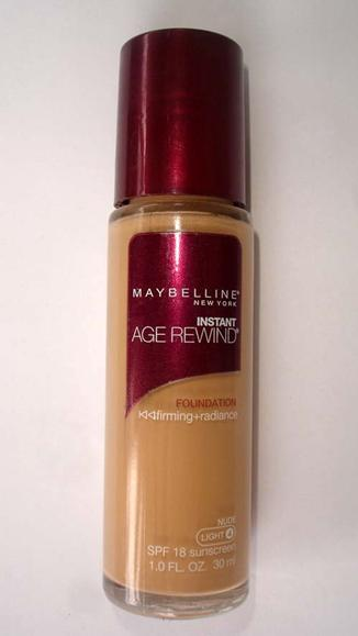 Maybelline instant age rewind foundation review