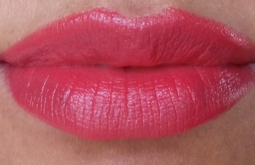 Revlon Gentlemen Prefer Pink Swatch It is more like a carrot pink
