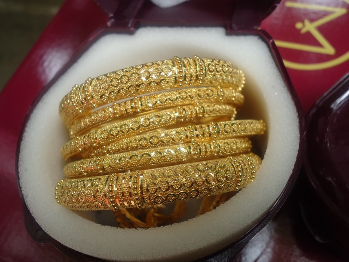 Gold Bangle Design