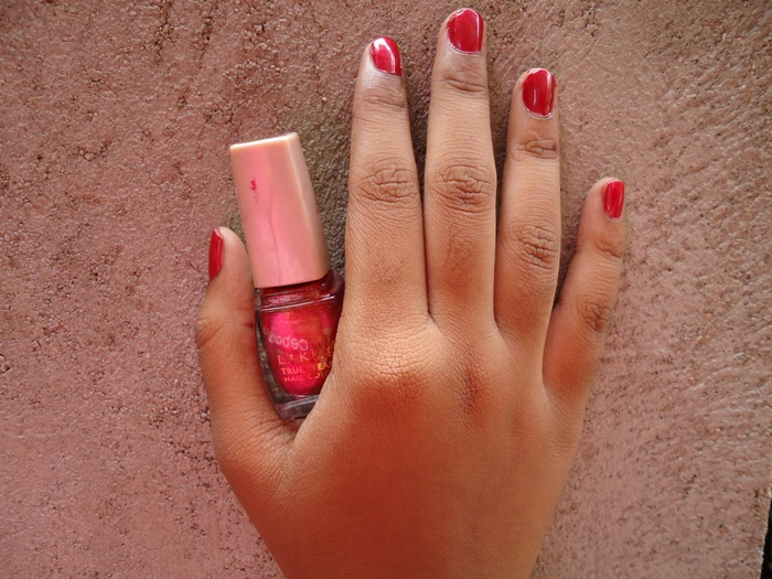Lakme Nail Polish Red Allure