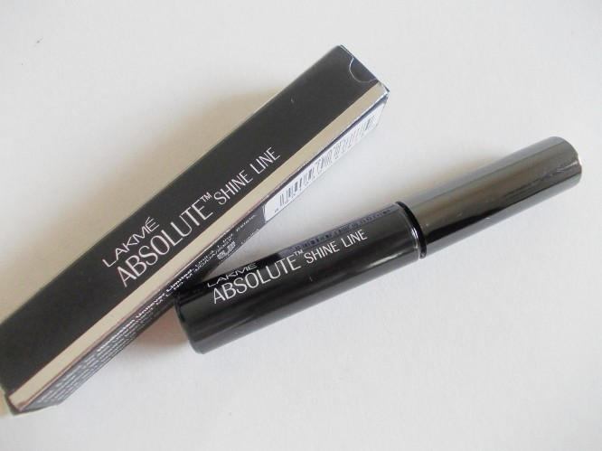 Lakme Absolute Shine Line Black Eyeliner Review
