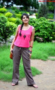 Outfit of the Day Tank Top and Linen Pants