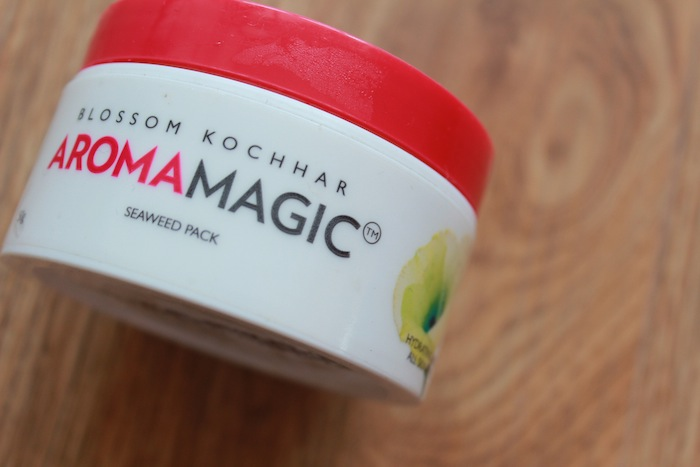 Aromamagic seaweed face pack review