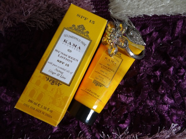 kama ayurveda sunscreen