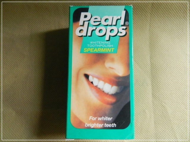 Pearl Drops teeth whitening polish