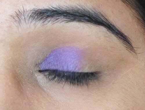 Smokey Purple Eye Makeup Tutorial 5