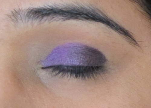 Smokey Purple Eye Makeup Tutorial 7