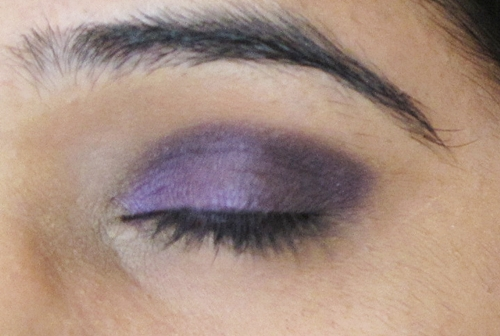 Smokey Purple Eye Makeup Tutorial 8
