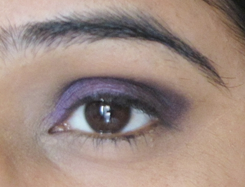 Smokey Purple Eye Makeup Tutorial 9