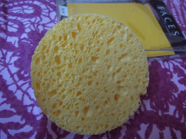 faces cleansing  sponge