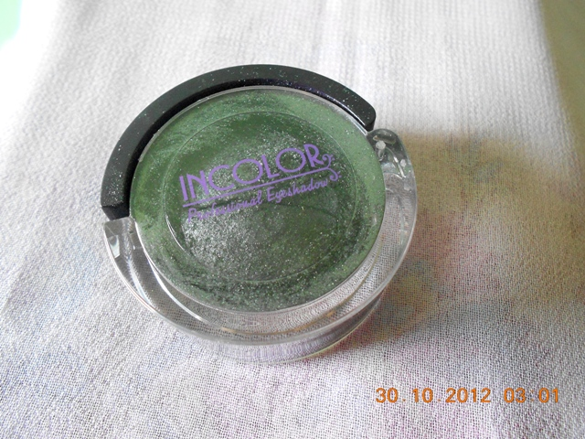 incolor+eyeshadow+dark+grey Incolor Professional Eyeshadow Dark Grey, Review, EOTD