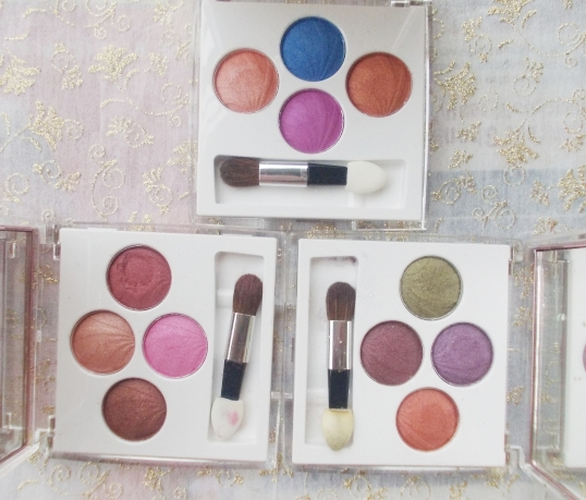 lotus purestay eyshadows collection