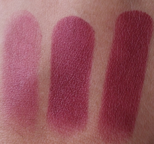 lotus herbals purestay lip color swatches