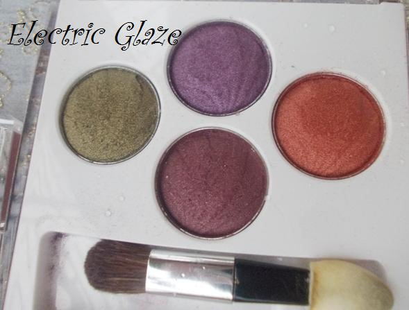lotus purestay eyshadows electric glaze