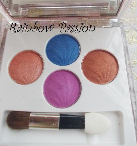 lotus purestay eyeshadows rainbow glaze