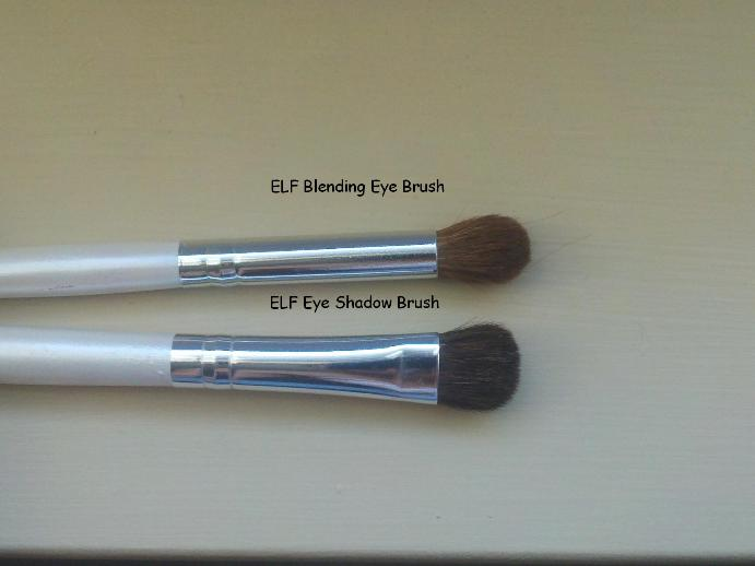 ELF Essential Eyeshadow Brush and Blending Eye Brush Review
