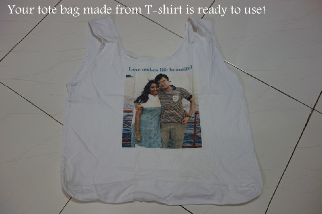 How To Make Tote Bag From T Shirt Do It Yourself 5