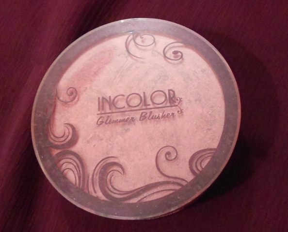 Incolor Glimmer Blusher in Brick Brandy Review