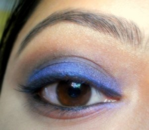 Incolor Professional eye shadow # 824 Bliss Blue eotd 1