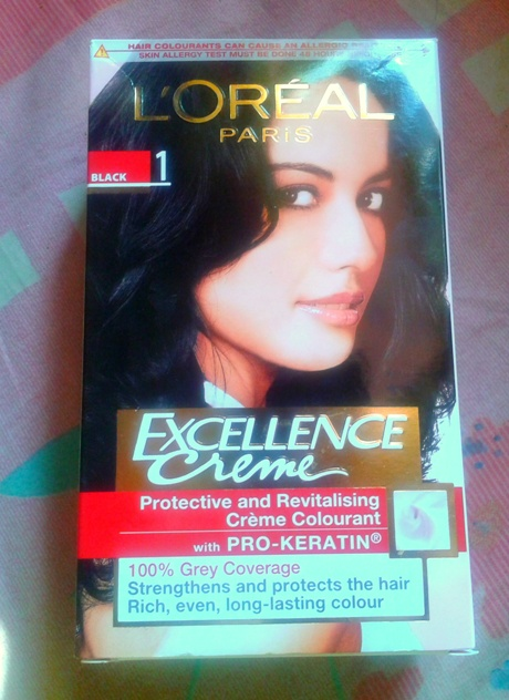 L'Oreal Paris Excellence Creme Hair Color Black Review