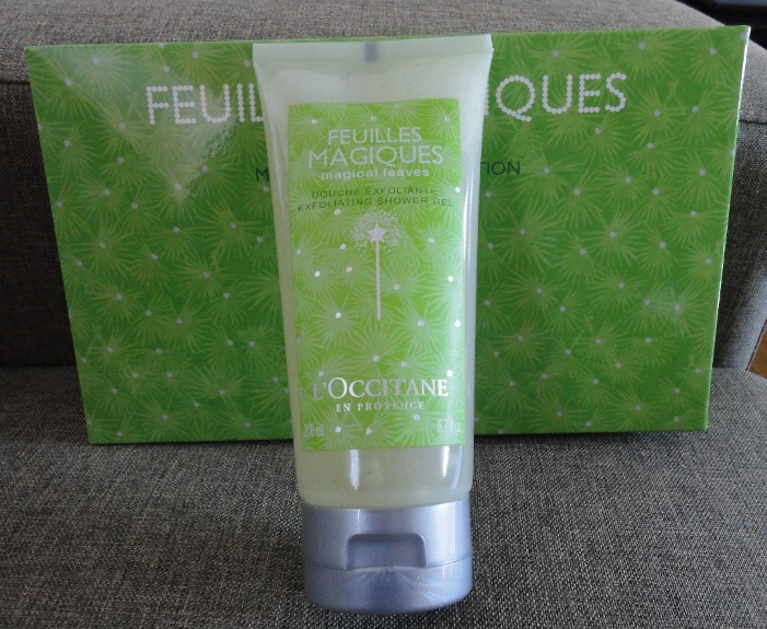 L'Occitane Magical Leaves Exfoliating Shower Gel Review