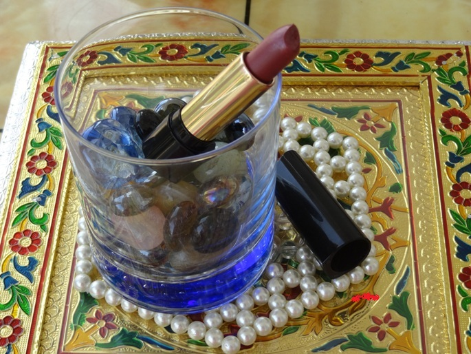 Lancome L'Absolu Rouge 2 Lancome L'Absolu Rouge Lipstick   Shade #354 Review