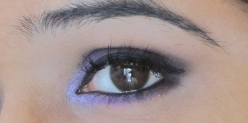 Maybelline Vivid and Smooth Liner Lavender Pearl Look