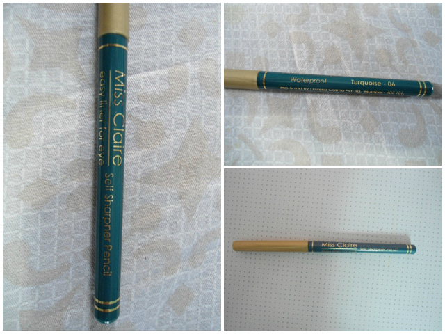 Miss Claire  Easy liner For eyes Turqoise 06 (2)